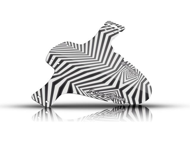 "Riesel Design schlamm:PE Pare-boue avant 26-29"", dazzle"